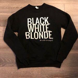 Women's sweatshirt. Worn once. Like new .